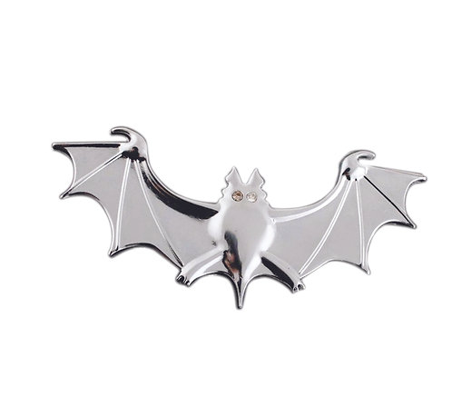 Bat Metallic Emblem