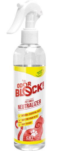 Odor Block & Fresh 300ml Cat