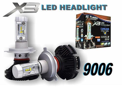 Headlight X3 9006