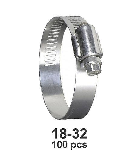 Hose Repair Clamp 18-23 100 pcs