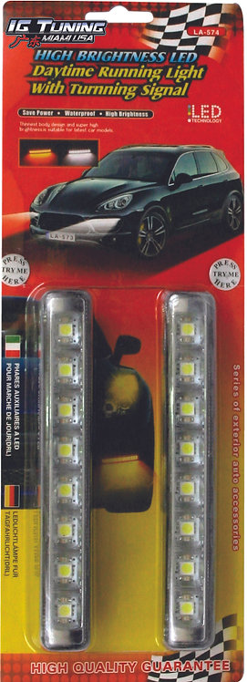 Daytime Running Light with Signal 2 Colors
