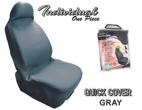 Seat Cover Individual 1 Pcs Grey