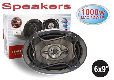 Speaker 6X9 1000W 2 Pcs