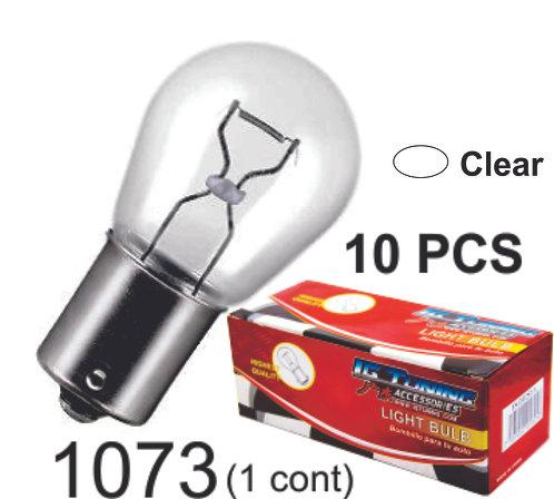 Sing.Cont Clear Glass Bulb (10Pcs Sets)
