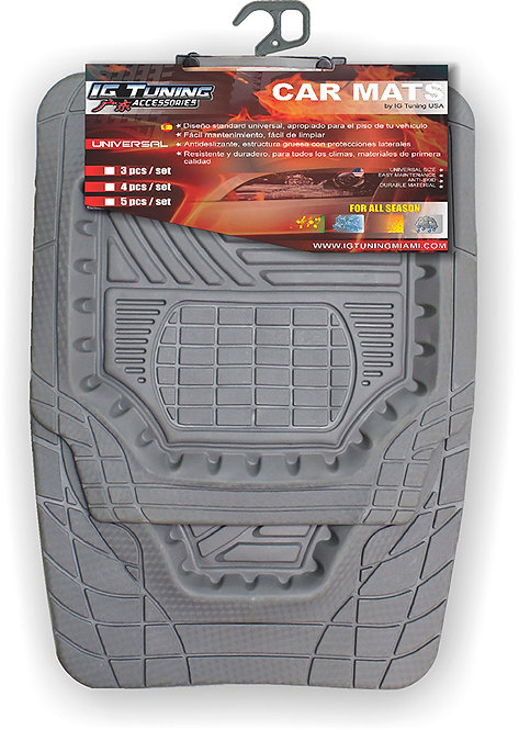 Car Mat MAXI tray style Gray