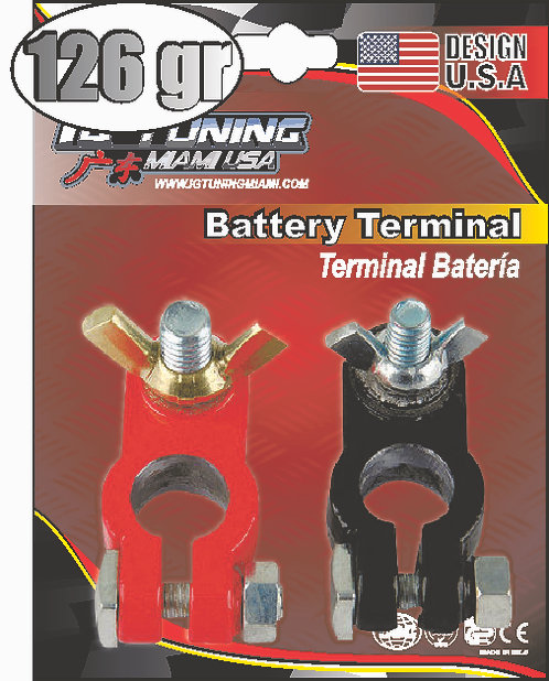 126Gr 2Pc Buttefly Battery
