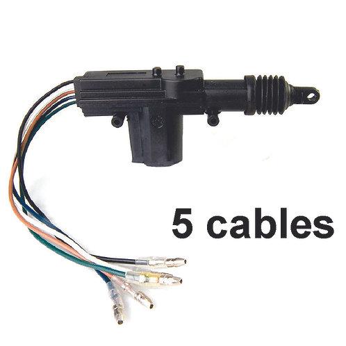 5 Wire Central Locking Door Motor Selenoid