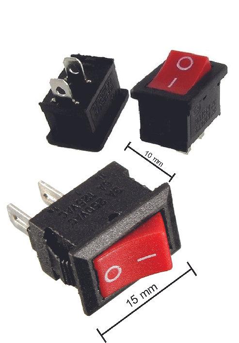 Switch Mini 10X15Mm