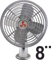 """8"""" 12V Metal Blade Fan"""