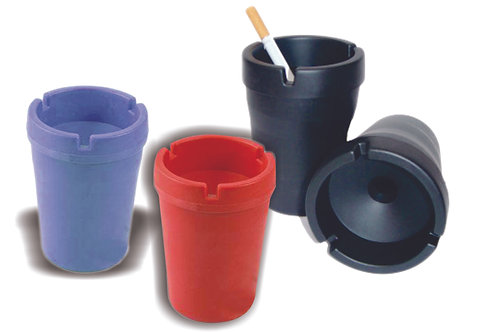 Ashtray Cup Plastic Colors