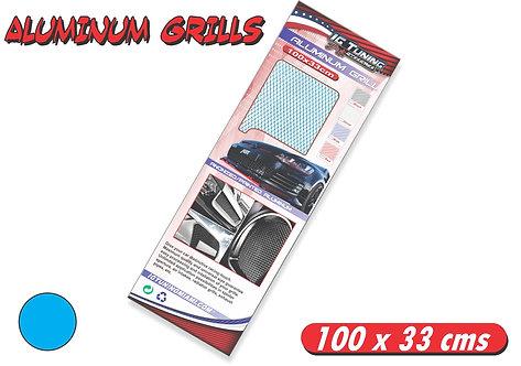 Aluminium Grill Blue 100 x 33cms