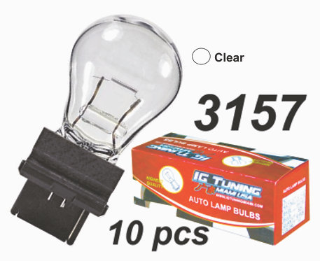 31567 Clear Bulb 10 Pcs