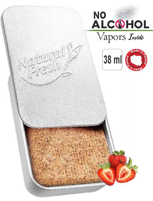 Metal box Organic 38ml Strawberry