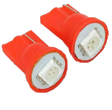 T10 Photo Led Red