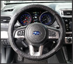 Steering Wheel Cover Wire Black