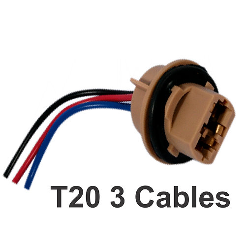 T20 Connector 3 Wires 1 Pcs