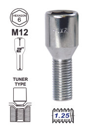 Bolt Tunner 24mm 12x1.25