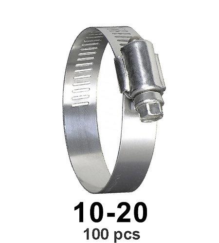 Hose Repair Clamp 12-20 100 pcs