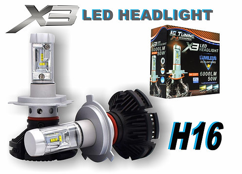 Headlight X3 H16