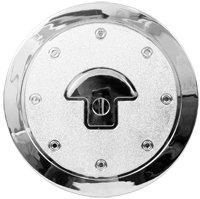 Round Gas Emblem Cover ( 3D )