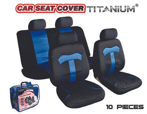 Seat Cover Titanium Blue 10 pcs
