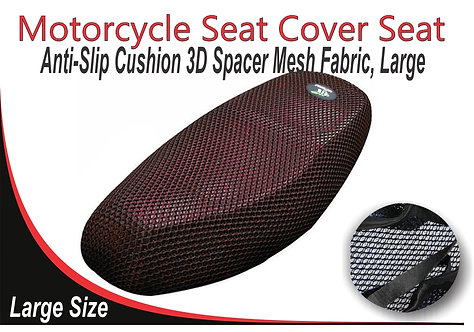 Motorcycle Seat Cover Red