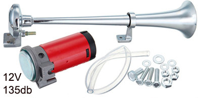 Trompet Air Horn  W/Compres 40 Cms