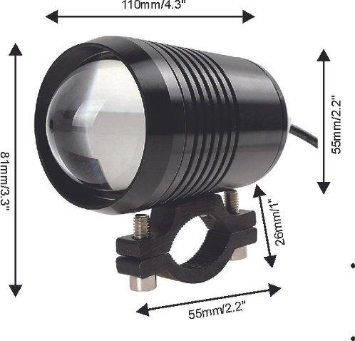 Magnificent LED Fog Light Moto w Base