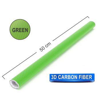 200x50 cm Green Carbon Fiber Paper