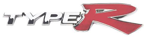 Type R Platinum Emblem