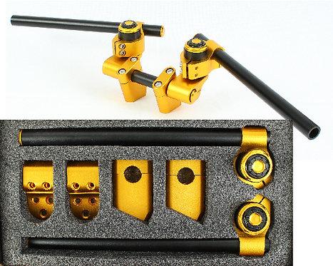 Alu Adjustable HandleBar MotorCycle Gold