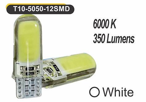 T10 LED 6 GelED 2 pcs White