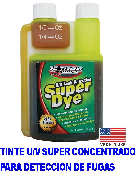 SAE Certified Super Dye Yellow 8oz