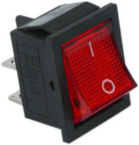 Square Red Switch