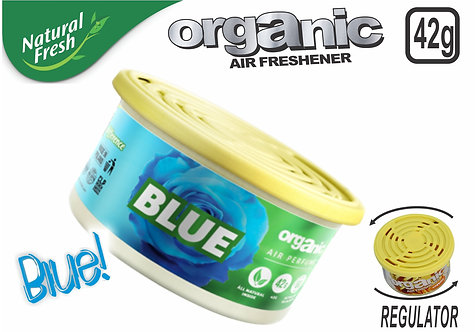 Organic Can Pure With Lid Blue 42 G
