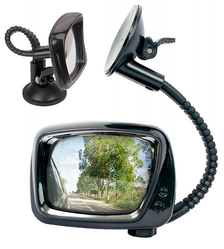co-driver mirror With Suction Cup