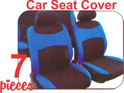 Seat Cover Kit Black Blue