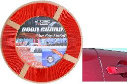 Car Door Rubber Guard Protector Strip Red