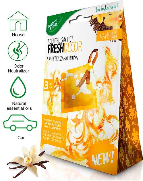 Fresh Decor Sachetes Vanilla 3x10ml