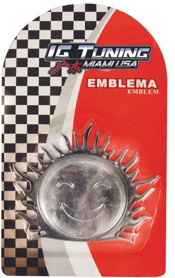 Sun Emblem lock cap