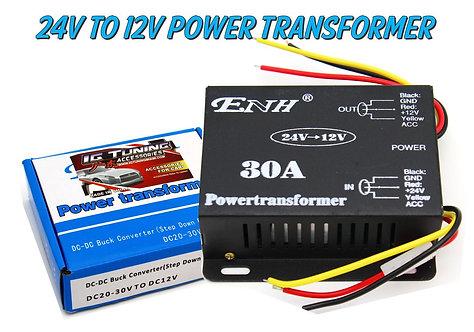 24V to 12V Transformer 30 amps