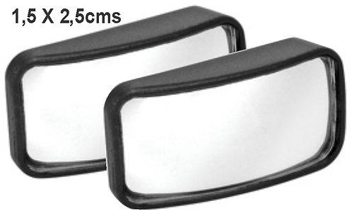 1.5Cmx2.5 Fish Eye Blind Spot 2Pcs Mirror