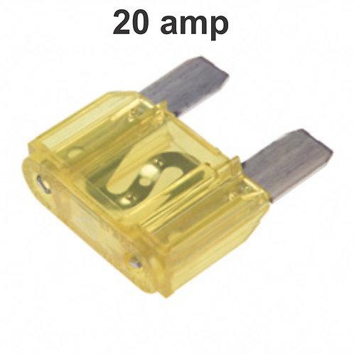 20 Amps Fuse 100 Pcs