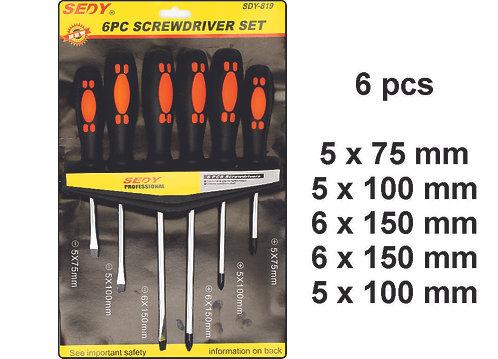 Screwdriver Kit 6 pcs Better Quality