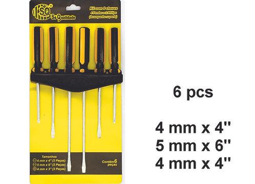 Screwdriver Kit 6 pcs