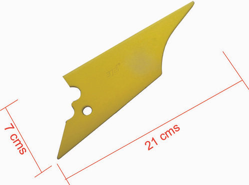 Plastic Spatula 21Cmx7Cm  No. 20