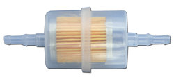 Plastic Fuel Filter In/Out UP/Down