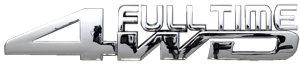 Full Time 4Wd Chrome Emblem