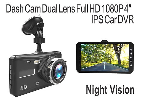 DashCam 12 Mp and rear Cam 4.0 Mp
