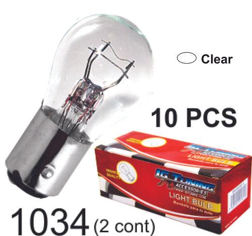 Double.Cont Clear Glass Bulb (10Pcs)